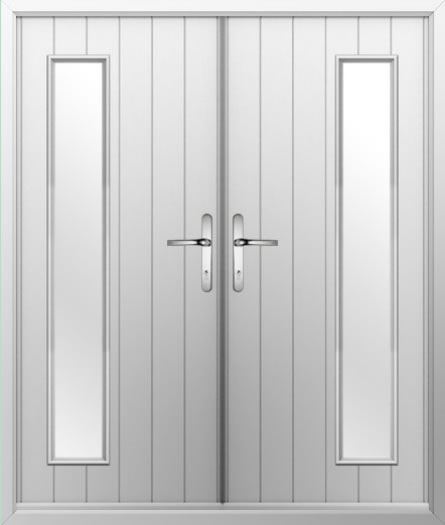 1 Strip Composite French Door