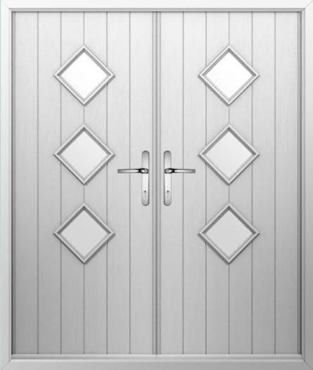 finest selection 91b8f 22ef4 3 Diamond - Composite French Door
