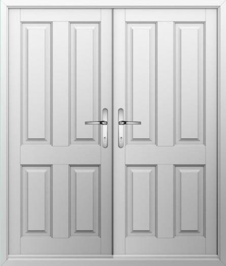 4 Panel Composite French Door