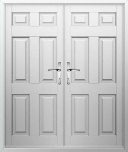 6 Panel Composite French Door