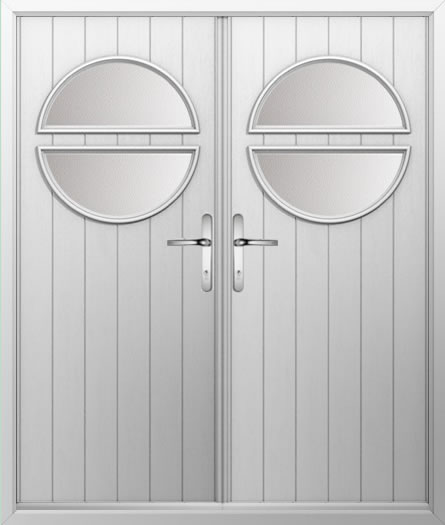 Circle Composite French Door