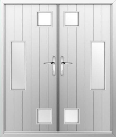 Combo Composite French Door