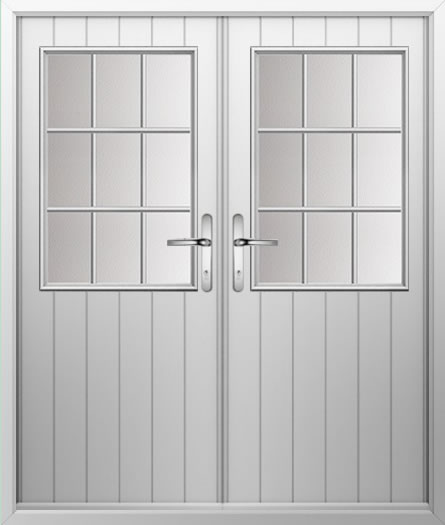 Cottage Grill Composite French Door