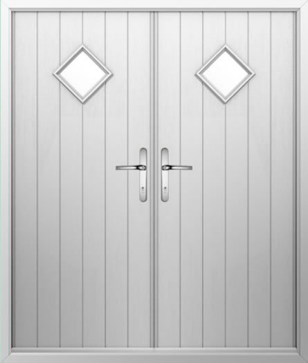 Diamond Composite French Door