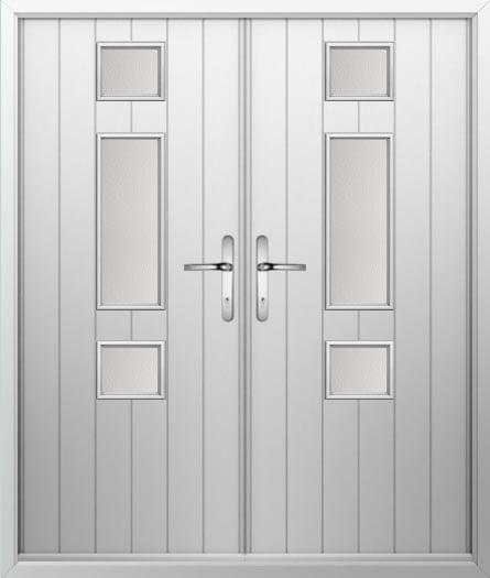 Dot Dash Composite French Door