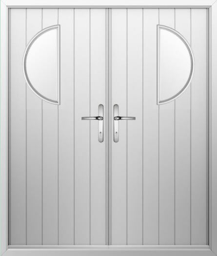 Moon Composite French Door