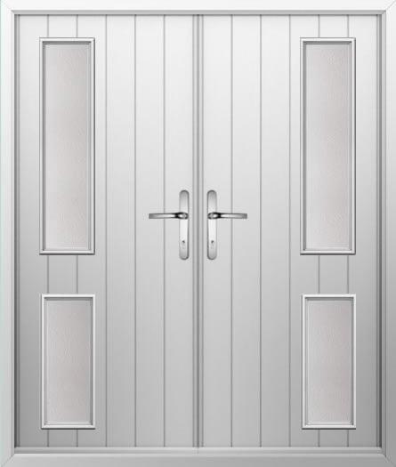 Twin Slide Composite French Door