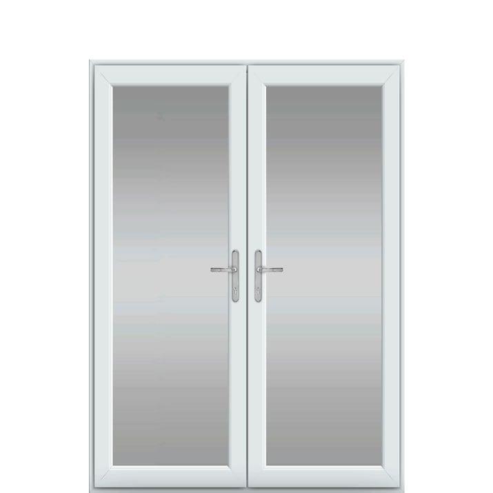 Single Frame, UPVC French Door