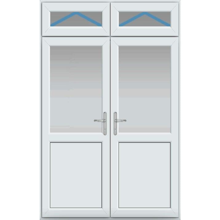 Top Light Inc Openers, Midrail Panel, UPVC French Door