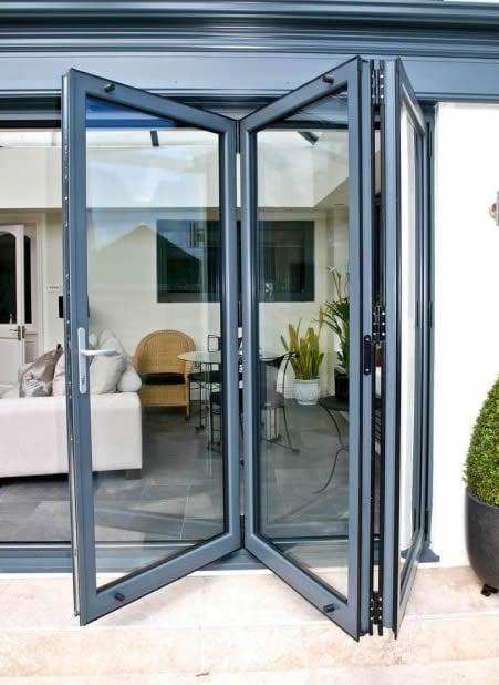 Aluminium Bi Fold Doors Slimline Aluminium Bifold Doors