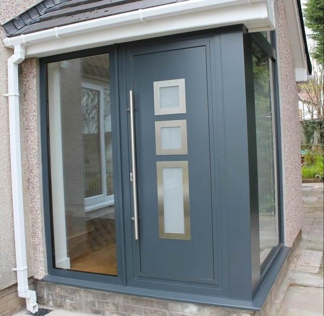 Aluminium Entrance Doors | ATS  |Aluminium Front Doors