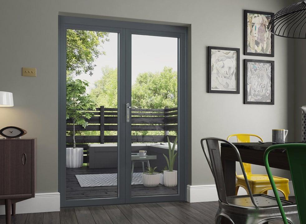 Aluminium French Doors External French Doors Cheap