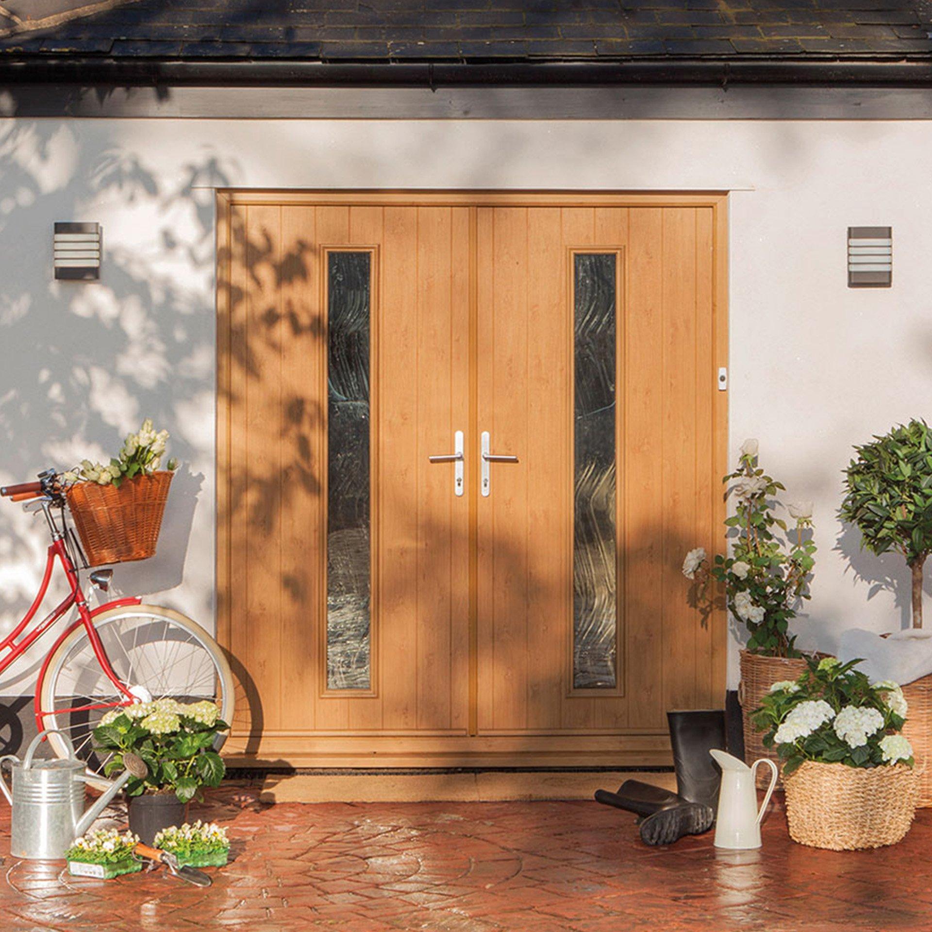 Double Exterior Front Doors Uk on