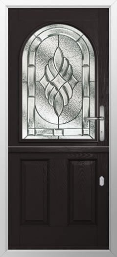 Composite stable door 2 Panel 1 Arch style