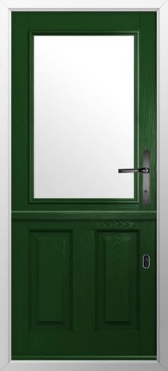 Composite stable door 2 Panel 1 Square style