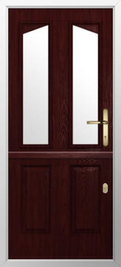 Composite stable door 2 Panel 2 Angle style