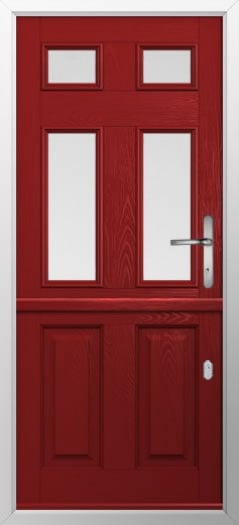 Composite stable door 2 Panel 4 Square style