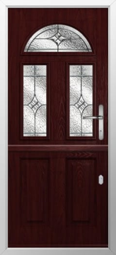 Composite stable door 2 Square 1 Arch style