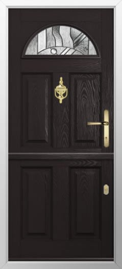 Composite stable door 4 Panel 1 Arch style
