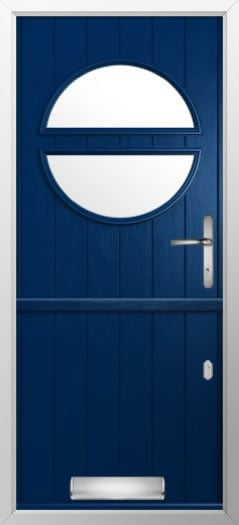 Composite stable door circle style