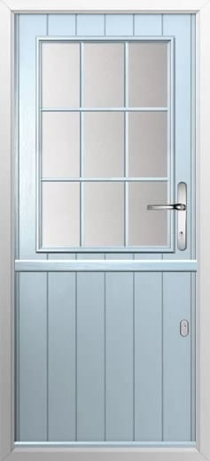 Composite stable door cottage grill style