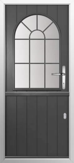 Composite stable door Cottage Sunburst style