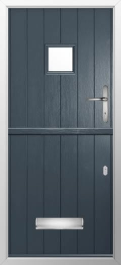 Composite stable door small square style