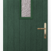 1 Square composite front door