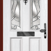 2 Square 1 Arch composite front door