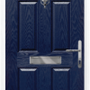 4 Panel 2 Square composite front door