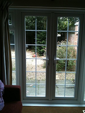 View some of our recent works by just value doors for Upvc french doors with georgian bar